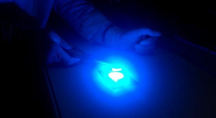La photopolymérisation par LED